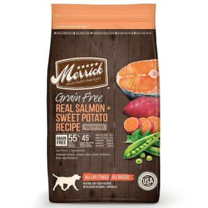 Merrick Salmon and Sweet Potato Grain Free Meals