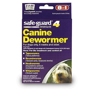 best dog dewormer 8in1 SafeGuard dog dewormer review