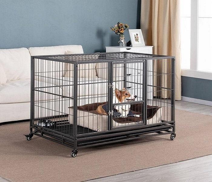 Yaheetech Dog Crate 43 Inch